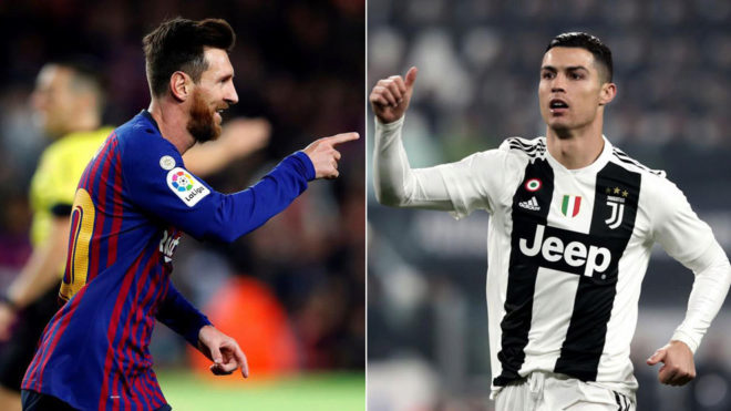 Lionel Messi names himself and Ronaldo as best players in the world