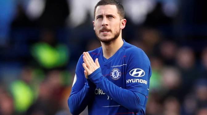 Eden Hazard bags 2019 PFA Player of the Year nomination