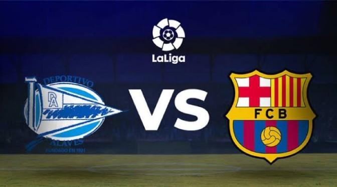 Barcelona beats Alavès a dominant 2-0 in La Liga