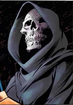 Death (Marvel Comics character).pngDeath, in Thanos: The Infinity Siblings #1 (June 2018) Art by Alan Davis