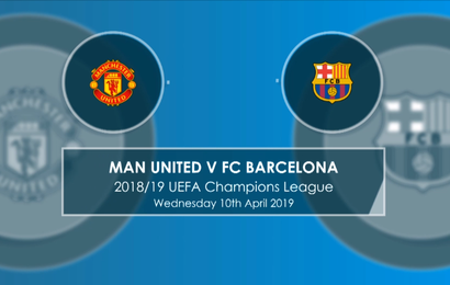 UCL Quarter Finals: Manchester United Vs Barcelona 0 – 1(Full Time)
