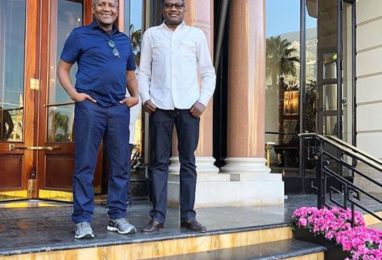Billionaire Femi Otedola showers compliments on his best friend Aliko Dangote as he clocks age 62