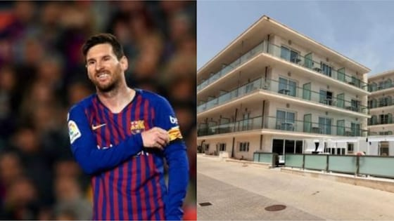 Lionel Messi of Barcelona buys new hotel described as dirty and smelly