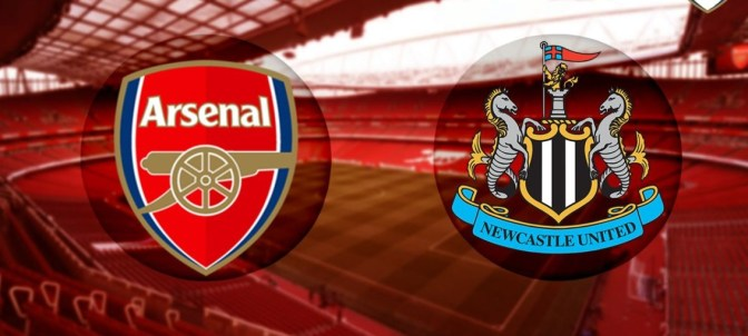Arsenal Vs Newcastle: Arsenal Vs Newcastle (Full Time)