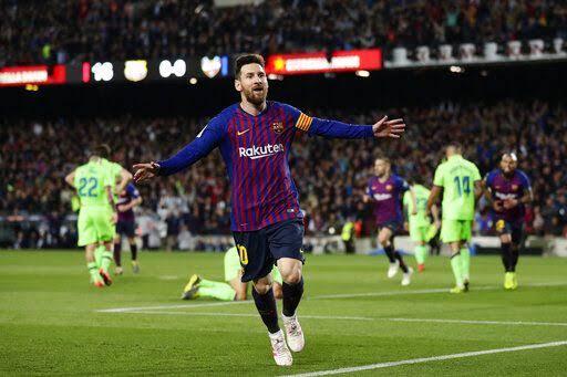 Lionel Messi's goal seals Barcelona for La Liga title 1-0 Levante