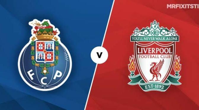 FC Porto Vs Liverpool 1-4(Full Time)