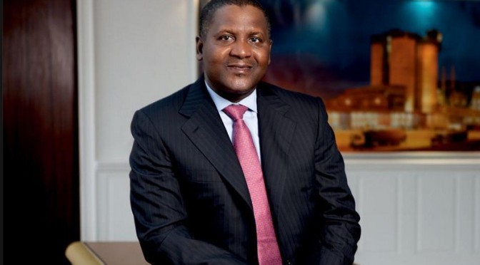 How Dangote withdrew $10m cash from bank and put it on bed… just to look at it