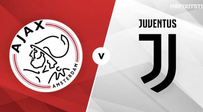 UCL Quarter Finals: Ajax Amsterdam Vs Juventus 1 – 1(Full Time)