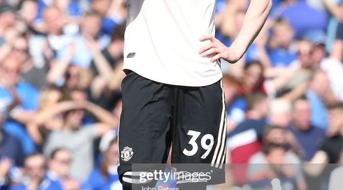 What Manchester United player Scott McTominay did when asked for an interview after Everton embarrassment