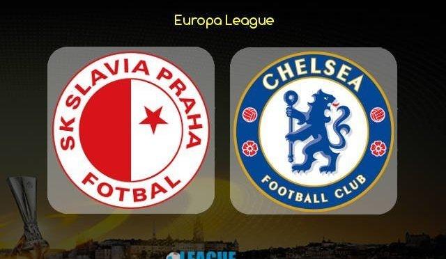Europa League: Marcos Alonso's late header helps Chelsea defeat Slavia Prague 0-1