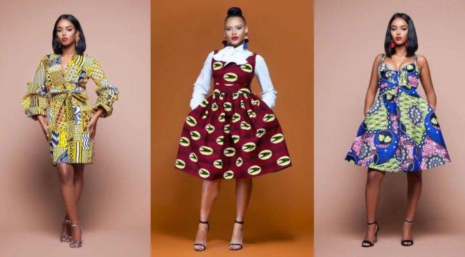 5 African Trending dress