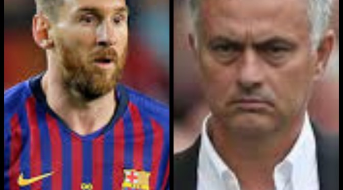 Jose Mourinho gives Messi new name