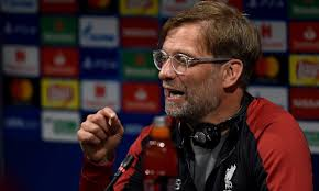 Liverpool Manager Jurgen Klopp says Liverpool will 'suffer' in Champions League semi against Barcelona