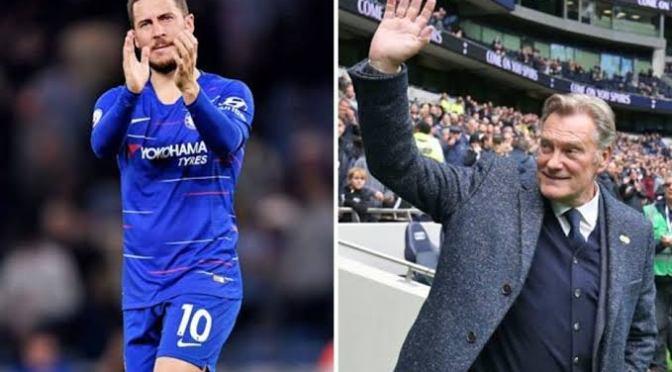 Ex-Chelsea boss Glenn Hoodle tells Eden Hazard to leave Blues for Real Madrid