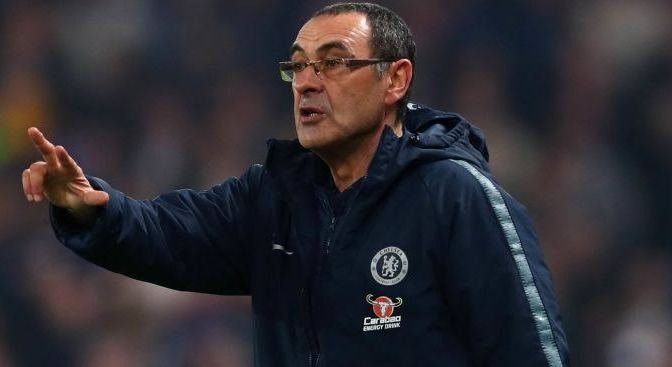 'I want to stay in England; give me two years to catch the leaders' says Chelsea Manager Sarri