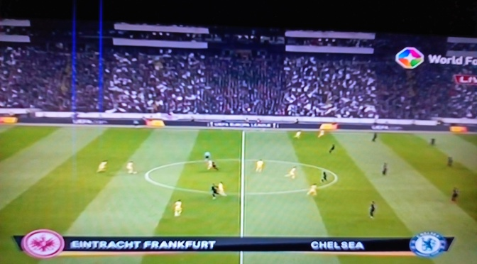 Frankfurt draws with Chelsea  in Europa League Semifinals 1-1