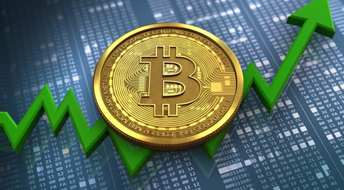 Bitcoin value increases above the $13,000 level