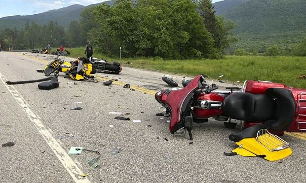 7 motorcyclists dead after collision with a pickup truck(Photos)