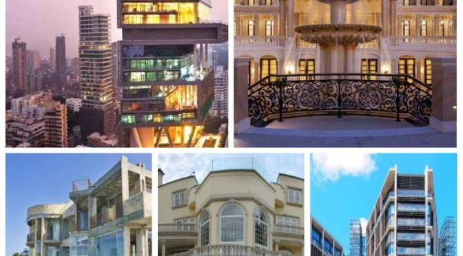 Top 5 Most Beautiful Houses In The World (No. 2 Is Extremely Beautiful)