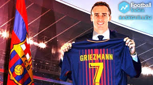 Barcelona sign Antoine Griezmann from Atletico Madrid.