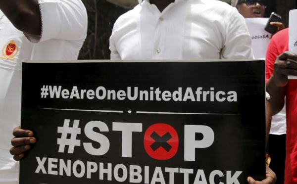 Xenophobia: Angry Nigerians protests