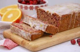 Cranberry -(Orange Pound Cake) – Ingredients and Instructions.
