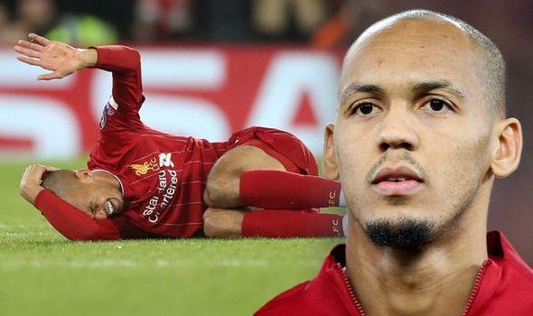 Fabinho: Liverpool midfielder out on till next year