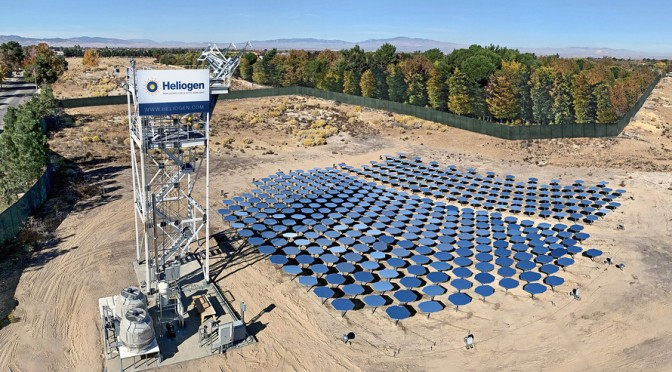 Heliogen Achieves Success In Concentrated Solar Energy Backed By Bill Gates