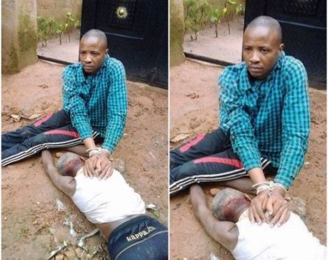 32 year old Nigerian man explains how he killed his 72 year old father