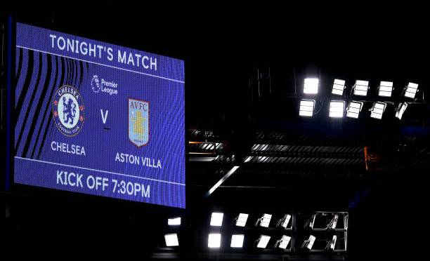 EPL- Chelsea vs Aston Villa Lines up and Score Updates