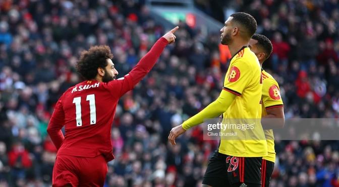 Liverpool Continues Their Unbeaten Run In EPL As Salah Scores Brace