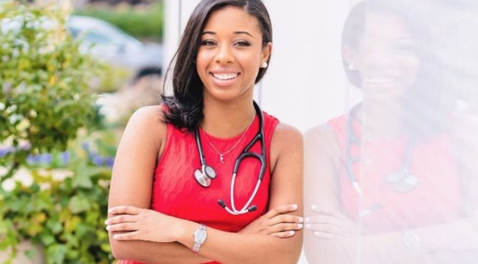 Meet The First And Youngest Black Osteopathic doctor in History
