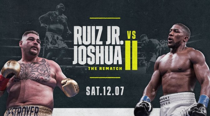 Anthony Joshua Vs Andy Ruiz 2: Time, Venue, Records, Everything You Should Know