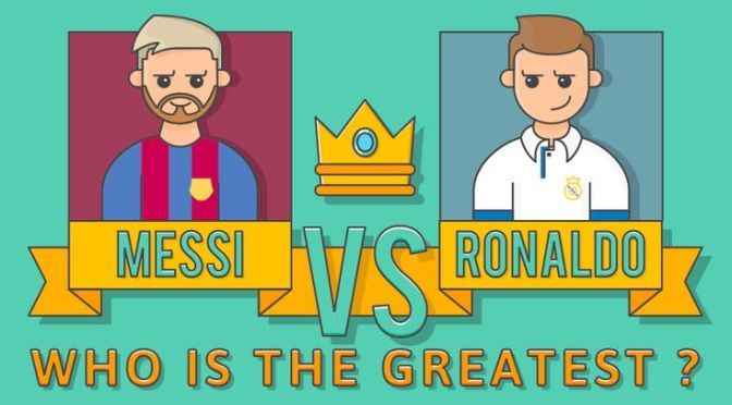 Who is the Greatest Messi Or Ronaldo?