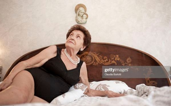 The will of an elderly woman