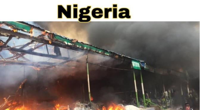 Nigerian Youths Burns Down Church In Ondo State, Nigeria