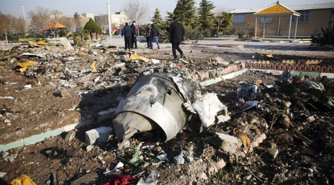 Ukrainian Plane Crash Kills 176 people, as They Begin Mourning And Investigations