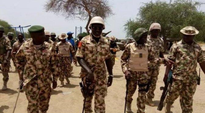 Thrills As Nigerian Army Rescue 165 women, Children From Boko Haram