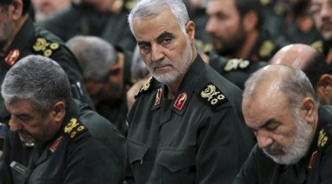 Breaking: US Murder Top Iranian Commander, Qasem Soleimani In Baghdad Air Strike